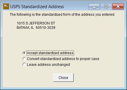USPSStandarizedAddress